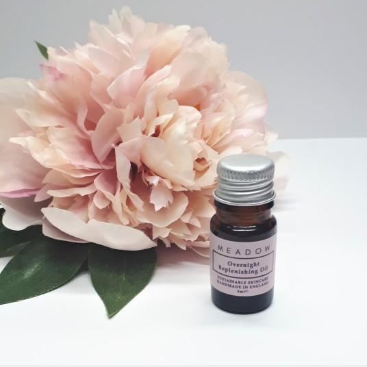 Oil Pink Flower