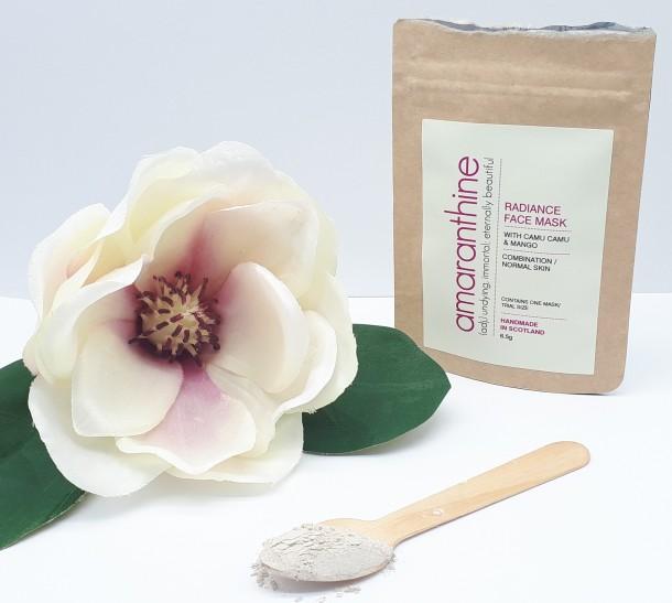 Amaranthine Radiance Mask Magnolia Flower