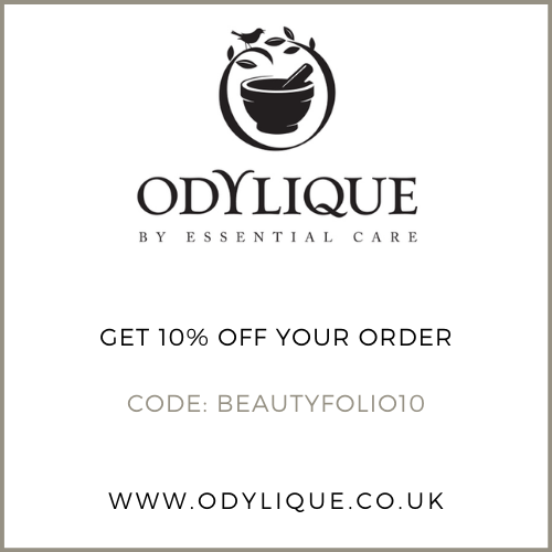 Get 10% off at Odylique with the discount code BEAUTYFOLIO10