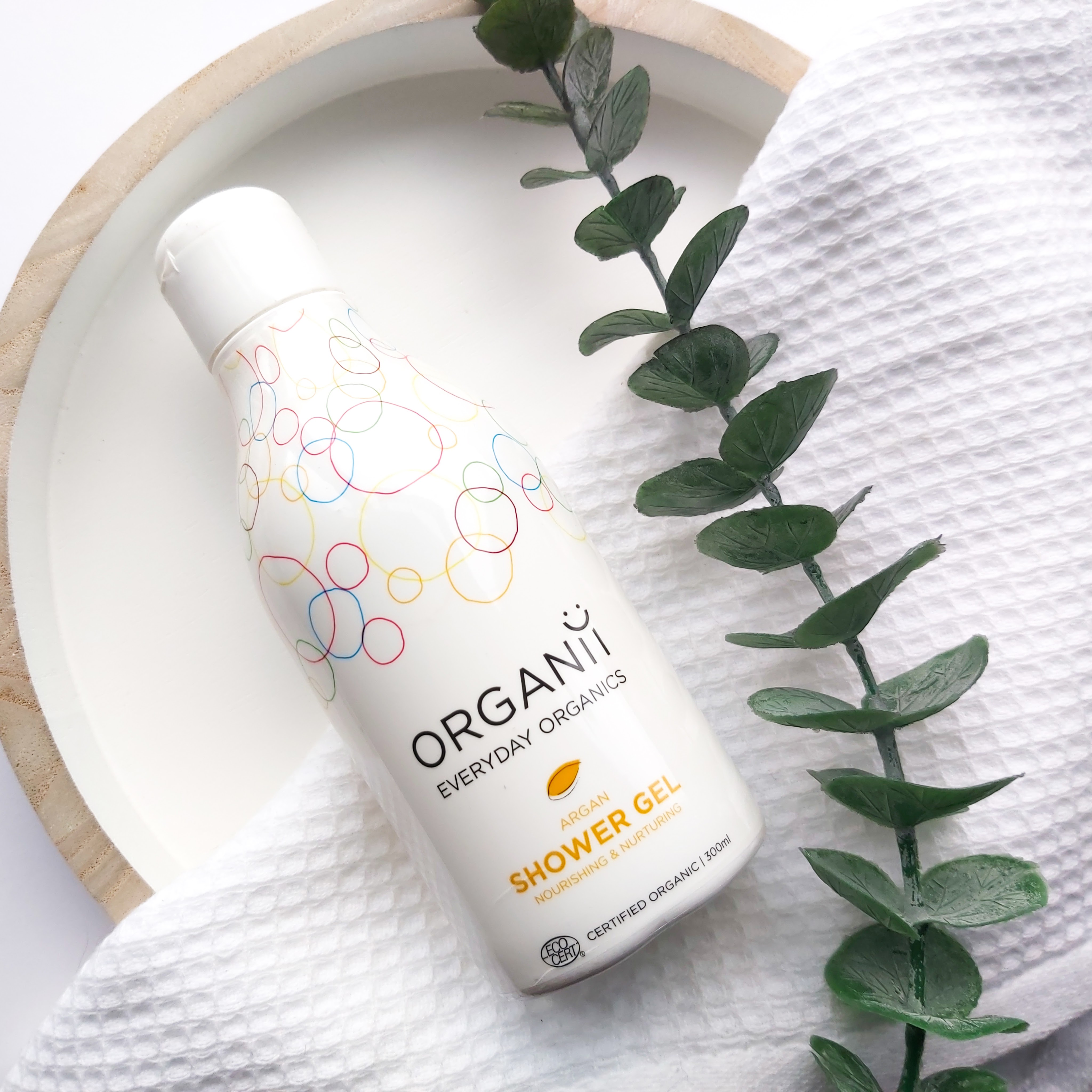 Organii Every Day Organics Argan Shower Gel review by Beauty Folio, Natural and Green Beauty Blogger.