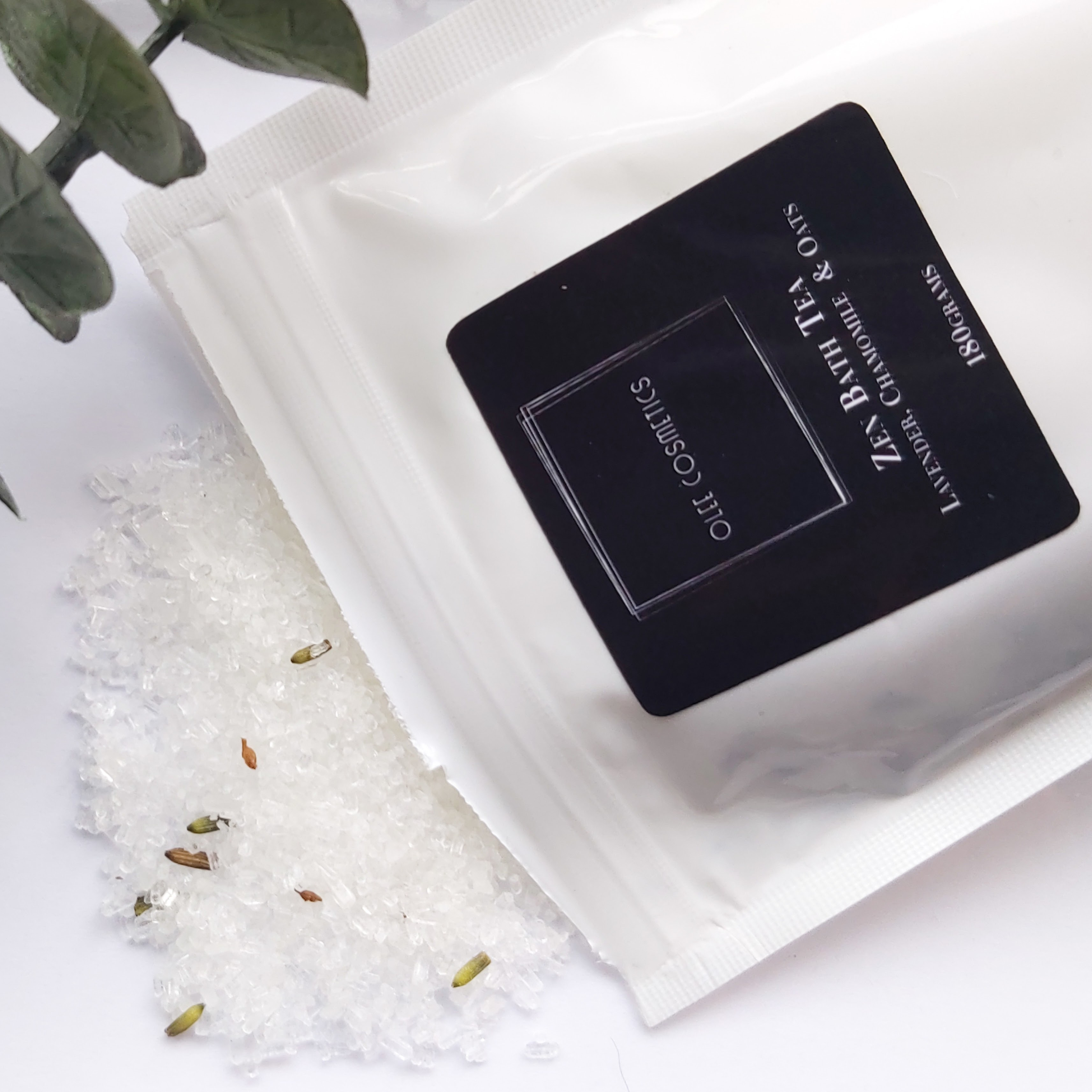Olee Cosmetics Zen Bath Tea review by Beauty Folio, Natural and Green Beauty Blogger.