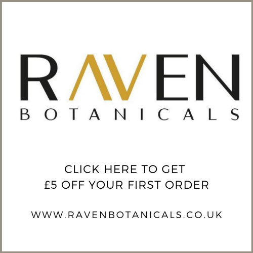 Click here to get £5 off your first order with Raven Botanicals